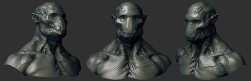 concept Sculpt 02 by mojette