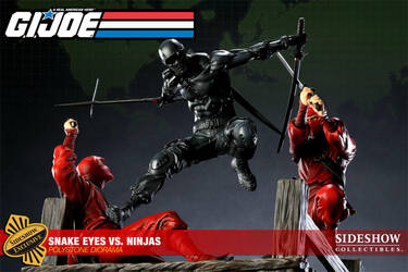 Snake eyes vs ninjas exclusive by mojette