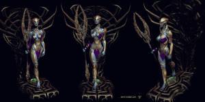 phobos Goddess2 by mojette