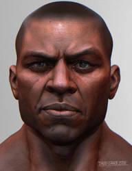 Black Guy Keyshot by mojette