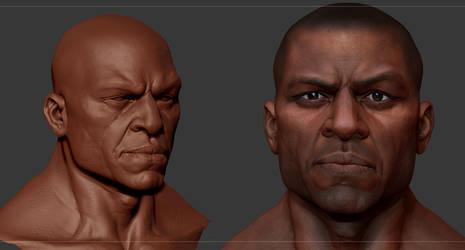 Black Guy Zbrush by mojette