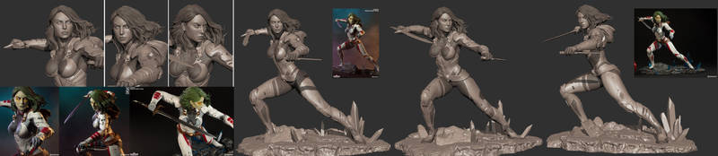 Gamora premium format by mojette
