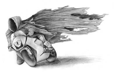 Ringwraiths on motorcycles by squanpie