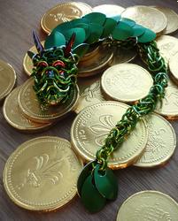 Green Dragon for ThornyEnglishRose by squanpie