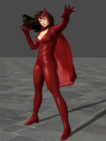 Scarlet Witch by SexySloth