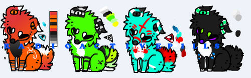 Adopts - 4/4 OPEN by RadioactivePills