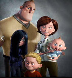 Parr Family Photo by WDisneyRP-Violet