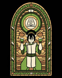 Stained Glass Toph by Fishmas