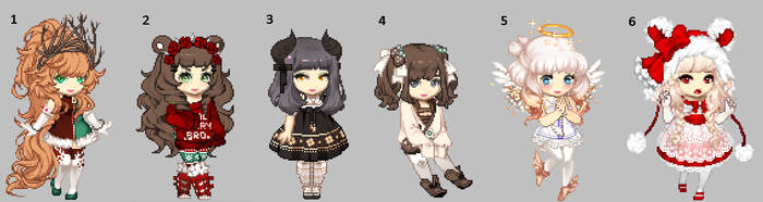 Holiday Gaia Adopts [OTA - 4/6 OPEN] by Snowshi