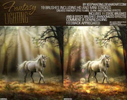 Fantasy Lighting Brushes by blitherjust