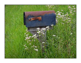 Country mailbox. DSCN0136, with story by harrietsfriend