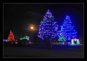 Night lights. DSCN0830, with story by harrietsfriend