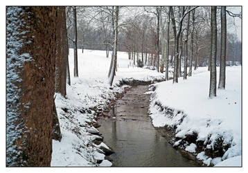 Winter stream. L1001317, with story by harrietsfriend