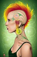Eye Lemonee Featheree by friki-dayz