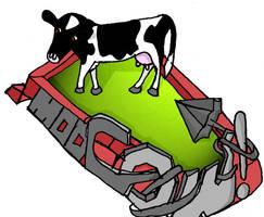 Graffiti Cow 2 by Yomon