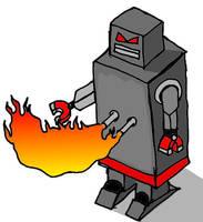 Evil Robot by Yomon
