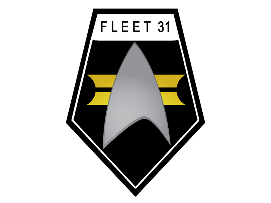 Fleet 31 Shield black design by ZanderYurami