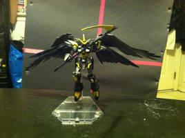 Gundam KyouFu wings spread by ZanderYurami