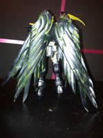 Gundam KyouFu wing details by ZanderYurami