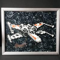 Framed X-Wing by ZanderYurami