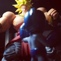 Rockman VS Broly by ZanderYurami