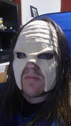 Kane mask wip by ZanderYurami
