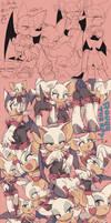 Rouge sketch by aoki6311