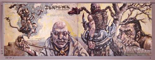 zendeka cover art by cemalsoyleyen