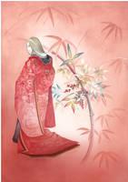 Japanese traditional pattern by K-Hiroko