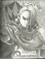 Demon Lord: Ghirahim by Jazzy-Book