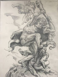 Master Study: Hercules Triumphant over Discord by Jazzy-Book