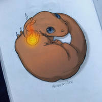 Charmander by Lailamon