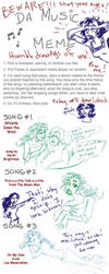Music Meme of Loknich by GingerOpal