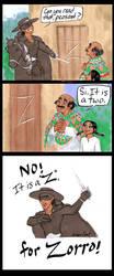 Z is for Zorro by GingerOpal