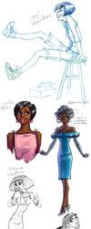 Sadie Mae Irons by GingerOpal