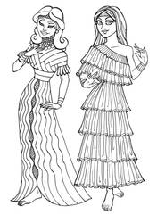 Ancient Sumerian Gals by GingerOpal
