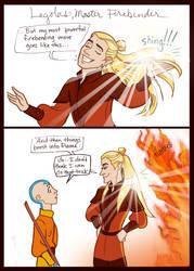Fire Nation Legolas by GingerOpal