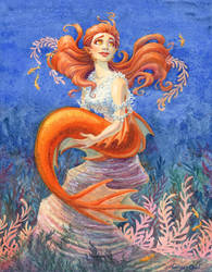 Princess Polly of Aqualegia by GingerOpal