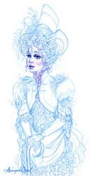 Miss Jzezika Sketchiness by GingerOpal