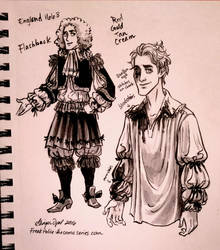 Flashback's Baroque Costume by GingerOpal