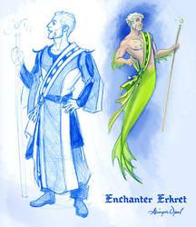 Fishy Enchanter Erkret by GingerOpal