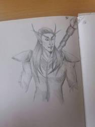 Blood elf boi by KathiesCreatures