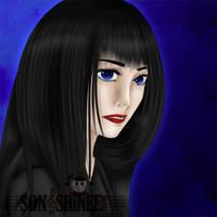 Miyuki's portrait II by OoMeli