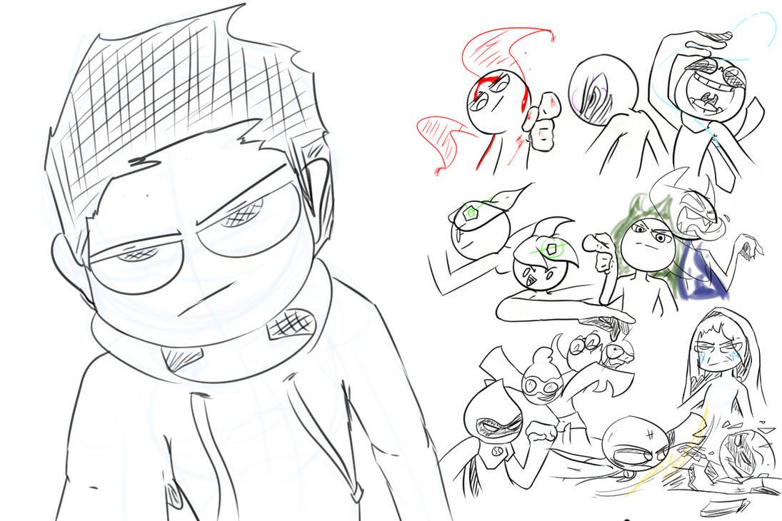 Stream doodles #1 by SugarRatio