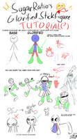 SugarRatio's tutorial on Glorified Stickfigures! 1 by SugarRatio