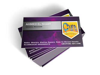 Pure Business Card by ClearnessVision