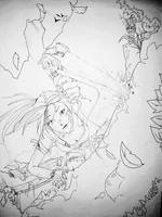 Lara Climbing by Neilou-X