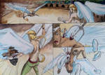 Angel's battle by Neilou-X