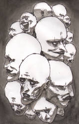 Faces by bobmeatbag