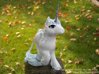 The Last Unicorn custom pony by Bee-chan